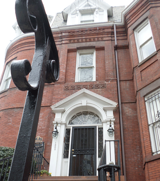 Headquarters of Colonial Dames XVII Century located in Washington, D.C.