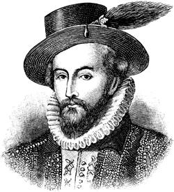 Sir Walter Raleigh (1554-1618)