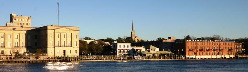Wilmington, North Carolina, waterfront.